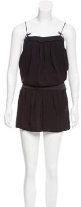Robert Rodriguez Silk Sleeveless Mini Dress