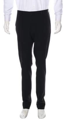 Lanvin Weaved Wool Dress Pants