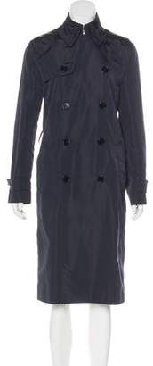 Ralph Lauren Black Label Long Trench Coat