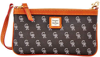 Dooney & Bourke Colorado Rockies Large Slim Wristlet