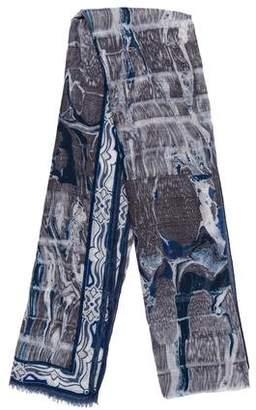 Emilio Pucci Cashmere & Silk Printed Scarf