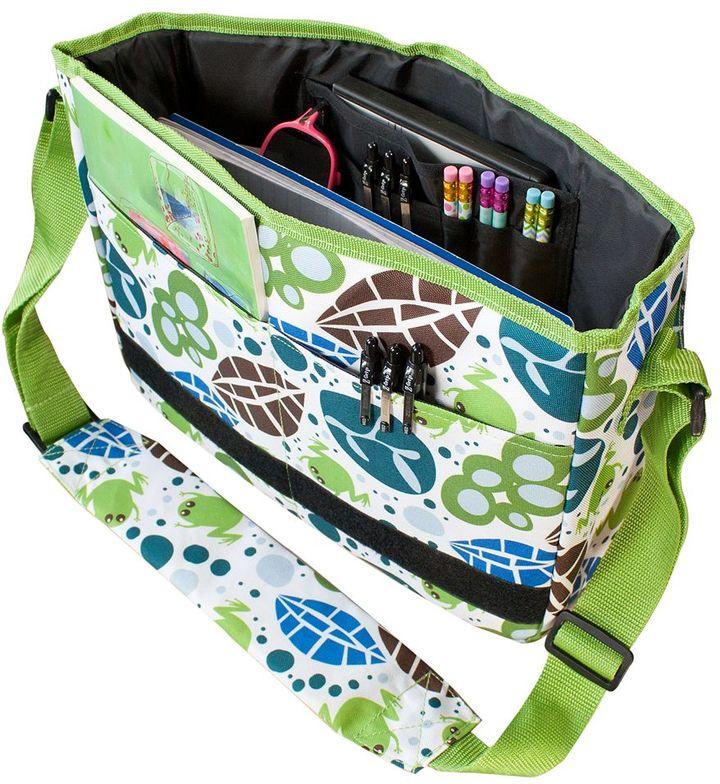 Wildkin Lily Frog Kickstart Messenger Bag - Kids