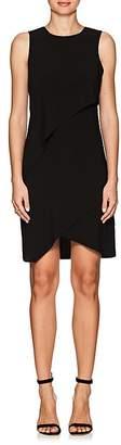 Halston WOMEN'S CREPE TIERED DRESS
