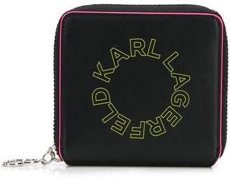 Karl Lagerfeld K/Neon small wallet