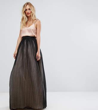 Asos Tall TALL Tulle Spot Maxi Skirt
