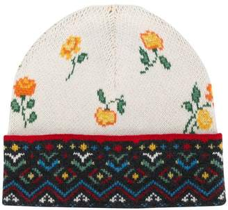 Alanui embroidered beanie hat