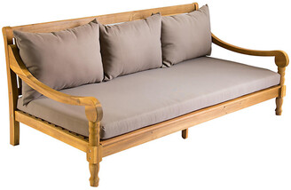 """One Kings Lane Outdoor 72"""" Buzzards Daybed - Taupe"""
