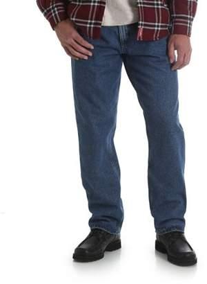 Wrangler Men's Fleece Lined Relaxed Fit Jean