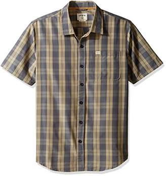 Co Captain Fin Men's Checko Short Sleeve Woven Shirt