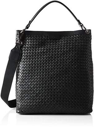 Strenesse Bag Kiki, Women's Shoulder Bag, Schwarz (), 11x34x36 cm (B x H T)