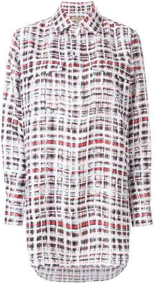 Burberry scribble check shirt