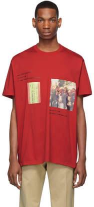 Burberry Red Women T-Shirt