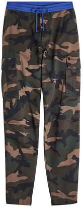 Valentino Camouflage Cotton Pants