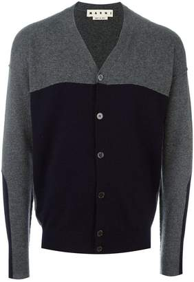 Marni two-tone cardigan
