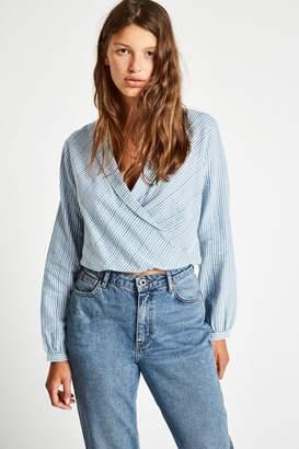 Jack Wills Mayflower Mini Check Wrap Shirt