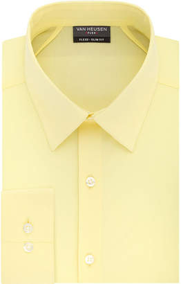 Van Heusen Flex 3 Long Sleeve Twill Dress Shirt - Slim