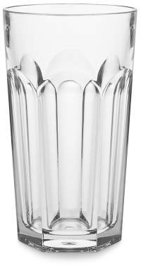 DuraClear® Outdoor Faceted Tall Tumblers