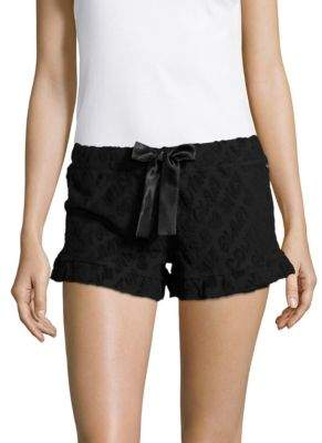 Juicy Couture Textured Sleep Shorts