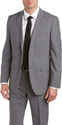 English Laundry Wool Suit With Flat Front Pant