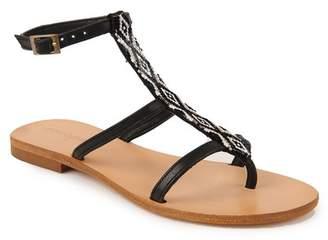 Cocobelle Tahiti Beaded Gladiator Sandal