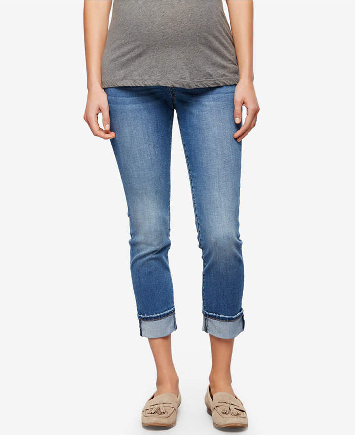 A Pea In The PodA Pea in the Pod Maternity Cropped Jeans