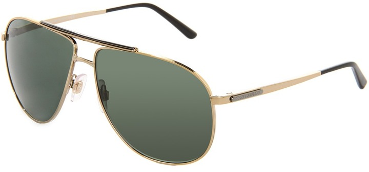 Dolce & Gabbana DG2116 (Pale Gold/Gray Green) - Eyewear