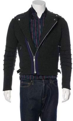 Sacai Layered Houndstooth Jacket