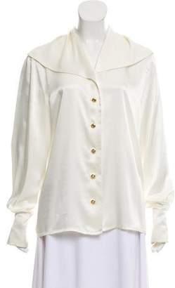 Basler Long Sleeve Button-Up Top