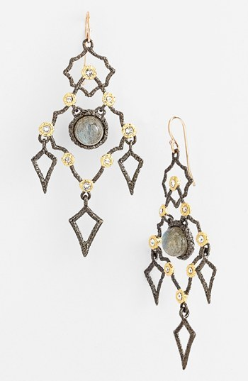 Alexis Bittar 'Elements - Jardin de Papillon' Chandelier Earrings