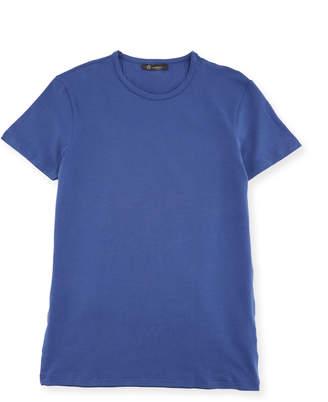 Versace Men's Crewneck Stretch-Cotton T-Shirt