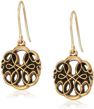 Alex and Ani Womens Path of Life Hook Drop Earrings