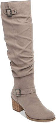 Madden-Girl Flash Slouch Boots