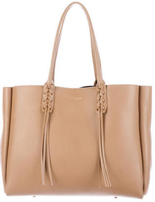 Lanvin Leather Tassel Tote $995 thestylecure.com