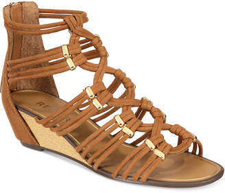 Report Maple Wedge Dress Sandals $60 thestylecure.com