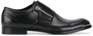 Alexander McQueen zipped Derby shoes