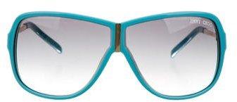 Jimmy ChooJimmy Choo Tinted Shield Sunglasses