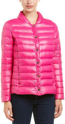 Via Spiga Lightweight Packable Down Coat