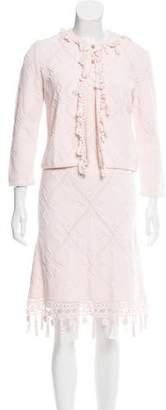 Chanel Matelassé Dress Set