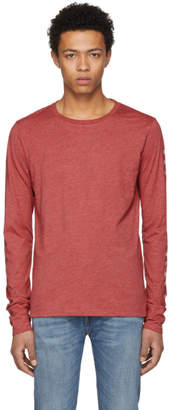 Burberry Red Marchston Burnout T-Shirt