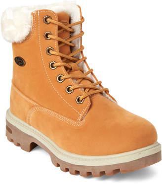 Lugz Kids) Wheat Empire Faux Fur Boots