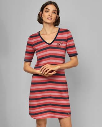 Ted Baker PEYOTI Knitted T-shirt dress