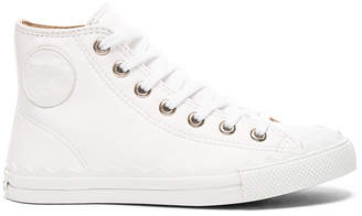 Chloe Leather Kyle Sneakers $650 thestylecure.com