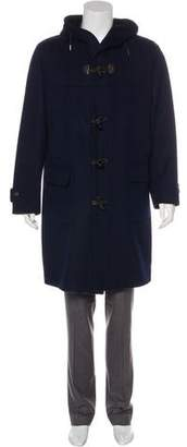 Kiton Hooded Toggle Coat