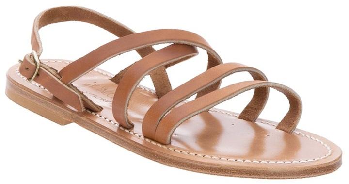 K. Jacques 'Heracles Naturel' sandal