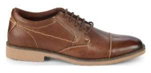 Steve Madden P-Share Leather Captoe Blucher Shoes