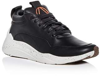 McQ Men's Gishiki Hybrid Leather Lace Up Sneakers