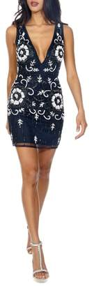 LACE & BEADS Gilly Minidress