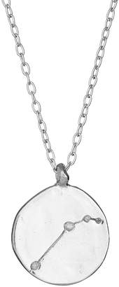 Chupi - Aries We Are All Made Of Stars Star Sign Necklace in Silver