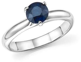 Roberto Coin Platinum Prong Set Sapphire Ring