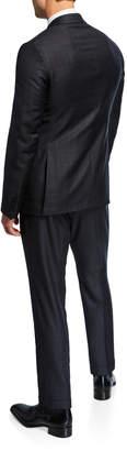 Neiman Marcus Men's Plaid Two-Piece Suit